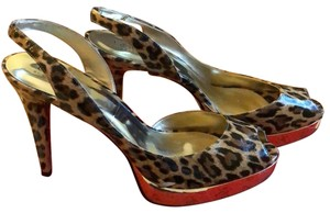Guess By Marciano black brown gold animal print Platforms
