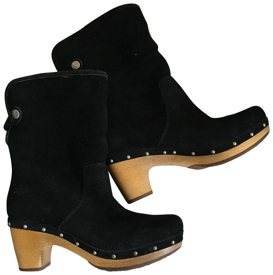 5df902a4258 UGG Australia Black Lynnea Suede Ankle Clog Boots/Booties Size US 6 Regular  (M, B) 60% off retail