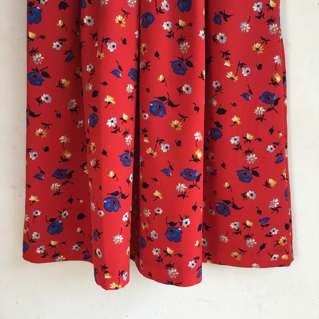 Anthropologie short dress Red Floral on Tradesy Image 5
