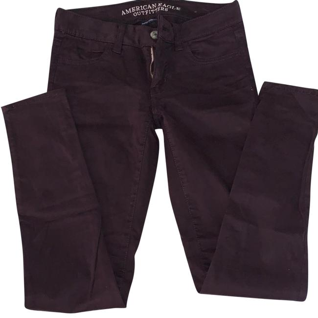 Preload https://img-static.tradesy.com/item/24539208/american-eagle-outfitters-purple-dark-rinse-jeggings-skinny-jeans-size-0-xs-25-0-1-650-650.jpg