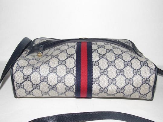 Gucci Shoulder/Cross Mint Vintage Vintage Ophidia Red/Blue Cross Body Bag