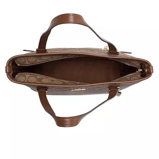 Coach Tote in Saddle Image 1