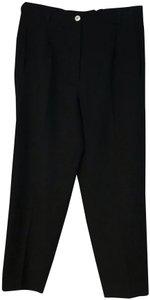Laurel Straight Pants Black