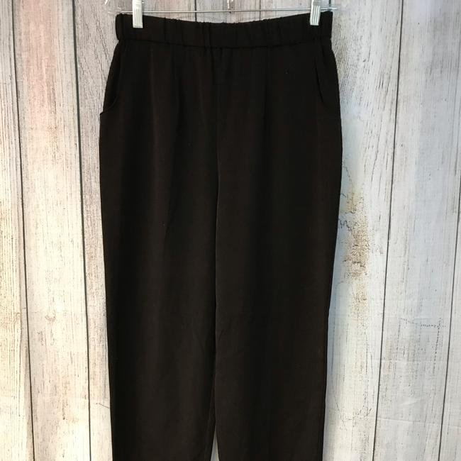 Unbranded Straight Pants Choco Image 1