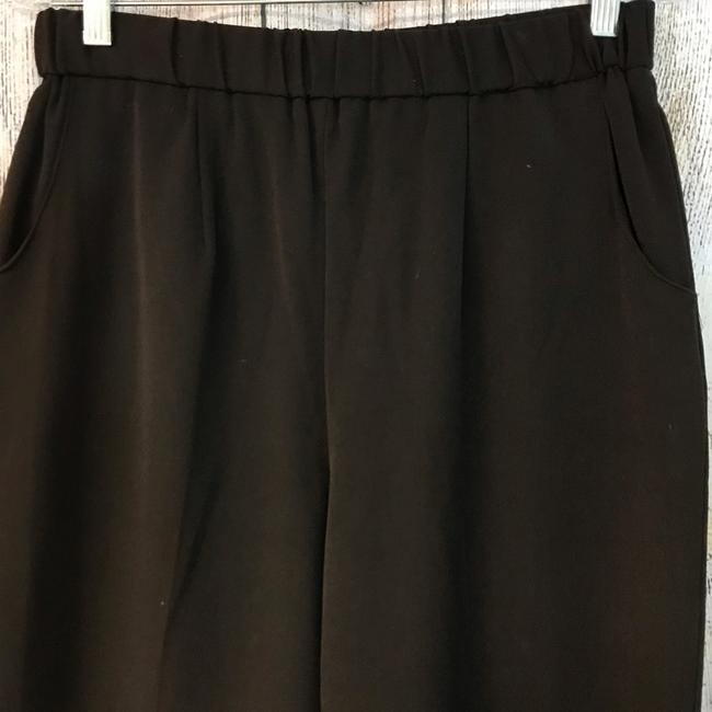 Unbranded Straight Pants Choco Image 2