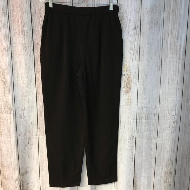 Unbranded Straight Pants Choco Image 3