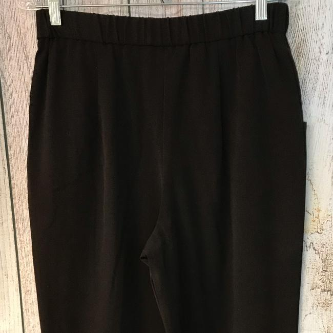 Unbranded Straight Pants Choco Image 4