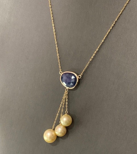 Estate CERTIFIED 2190 Italy South Sea Pearl Sapphire 11.7Mm 19