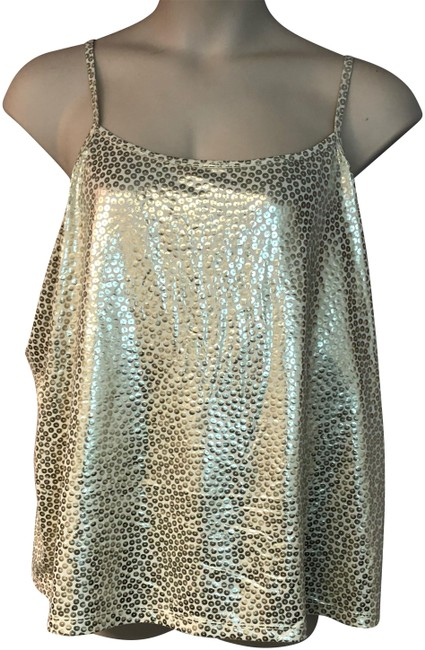 Preload https://img-static.tradesy.com/item/24539660/fashion-bug-gold-stretch-embossed-beige-poly-cami-4x-blouse-size-28-plus-3x-0-2-650-650.jpg