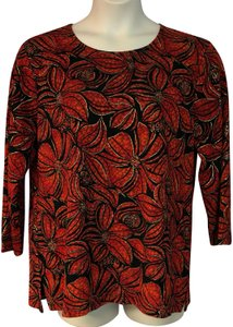 JM Collection Top Red