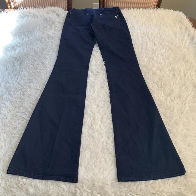 MiH Jeans Casual Mid Rise Dark Wash Work Flare Leg Jeans Image 2