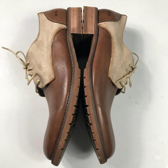 Bed|Stü Oxford Leather Brown Flats Image 1