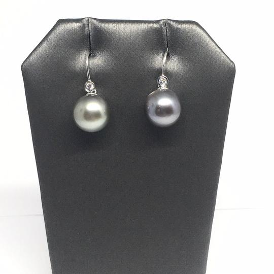 Estate Certified 1290 Tahitian Pearl and Diamond 11.4 Mm 14Kt 13908 Image 3