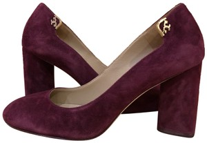 Tory Burch Burgundy Pumps