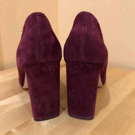 Tory Burch Burgundy Pumps Image 3