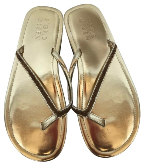 Preload https://img-static.tradesy.com/item/24540032/sigrid-olsen-gold-beaded-sandals-size-us-75-regular-m-b-0-1-540-540.jpg