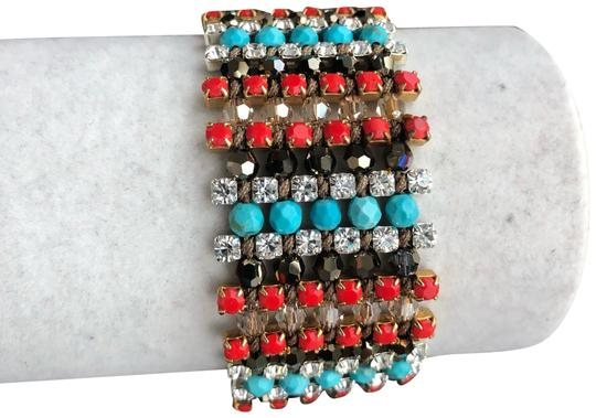 Preload https://img-static.tradesy.com/item/24540064/chan-luu-new-turquoise-red-mix-single-wrap-cuff-bracelet-0-1-540-540.jpg