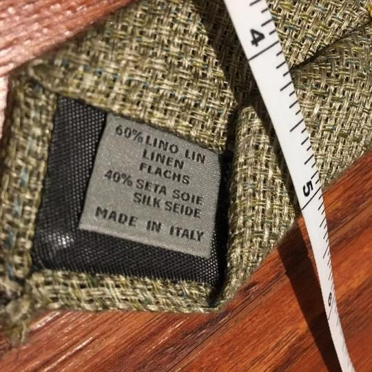 Canali $195 CANALI 1934 Light Grey-Biege Woven Neck Tie Made in Italy Image 4