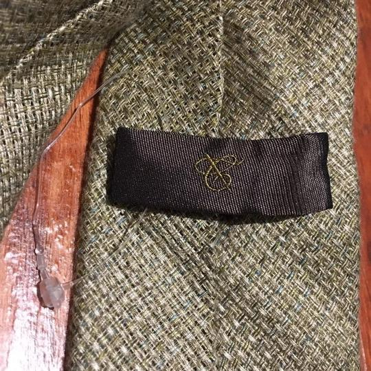 Canali $195 CANALI 1934 Light Grey-Biege Woven Neck Tie Made in Italy Image 5