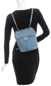 71795719aaa Blue Chanel Backpacks - Up to 90% off at Tradesy