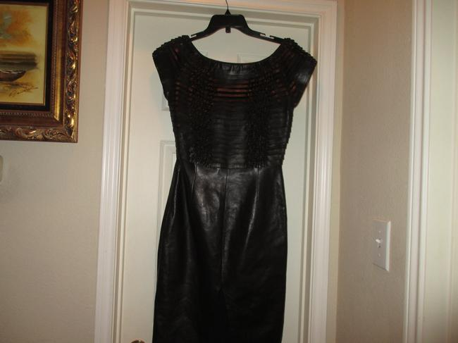 Gucci Leather Dress Image 3