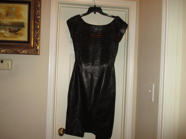 Gucci Leather Dress Image 4