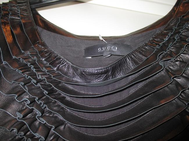 Gucci Leather Dress Image 8
