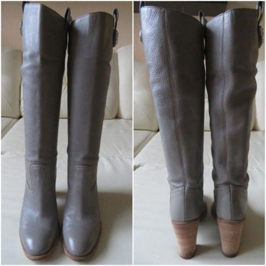 GUCCI Pull On GRAY Boots Image 4