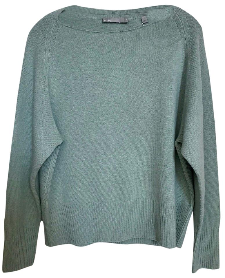 2b9a1e4920 Vince New Wool Cashmere Boatneck Size M Spearmint Sweater - Tradesy