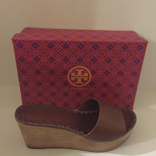 Tory Burch Brown Sandals Image 1