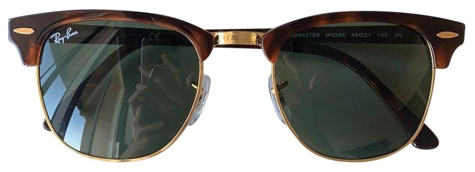 41dfb5c50c Ray-Ban AUTHENTIC RayBan RB3016 CLUBMASTER Tortois Sunglasses (49-21-140mm   ...