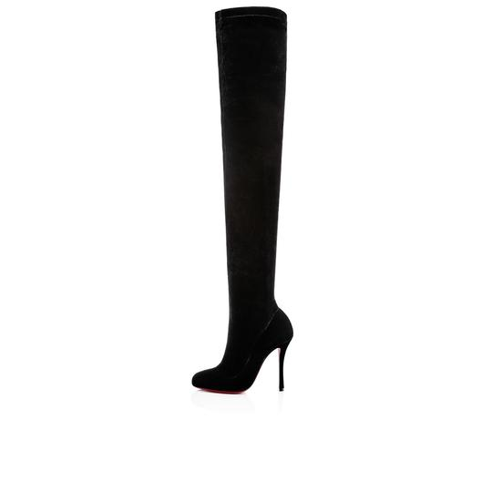 Christian Louboutin Stiletto Thigh High Otk Stretchy Classe black Boots Image 4