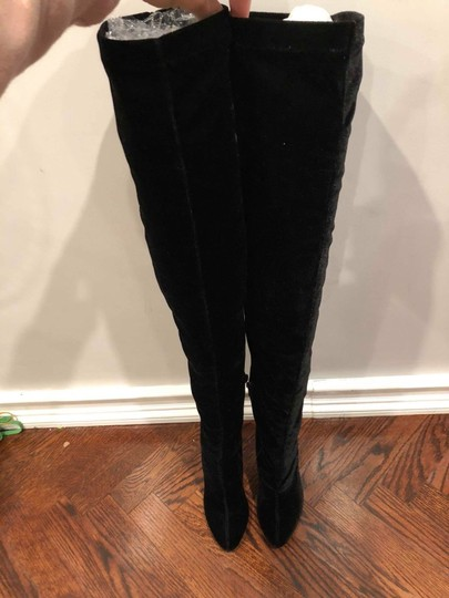 Christian Louboutin Stiletto Thigh High Otk Stretchy Classe black Boots Image 5