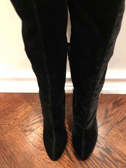Christian Louboutin Stiletto Thigh High Otk Stretchy Classe black Boots Image 7