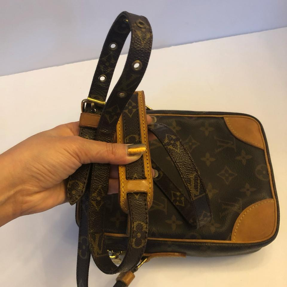 39f2b61a5e60 Louis Vuitton Danube Pm Shoulder Men Women Monogram Canvas Leather Cross  Body Bag - Tradesy