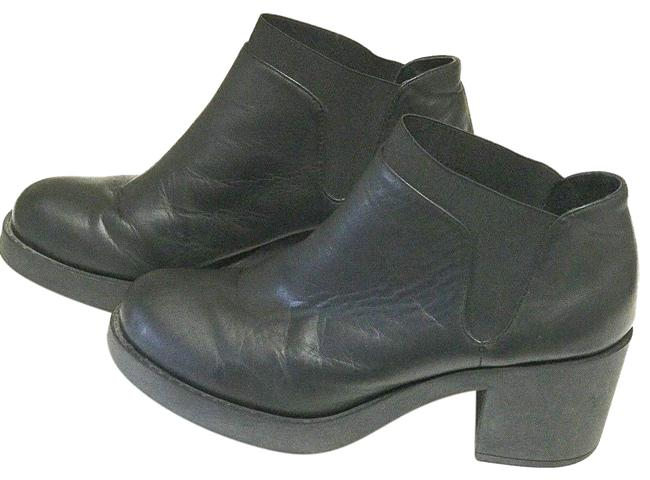 Item - Black Leather Desert Chukka Boots/Booties Size US 5 Regular (M, B)