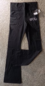 Peace Love World Relaxed Pants Black