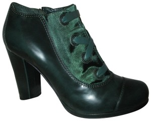 Carvela Kurt Geiger Ankle Leather Faux Lace Granny 003 forest green Boots