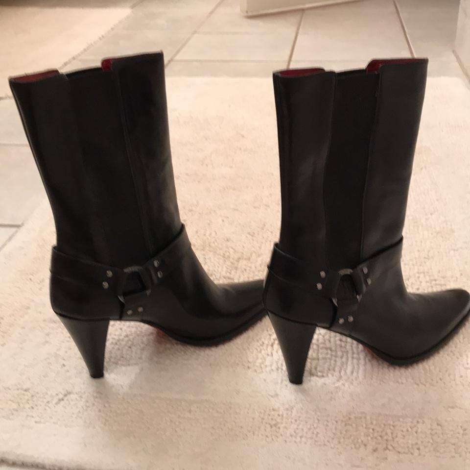 e2d3d7e6d69 Black Red Soles. Boots/Booties