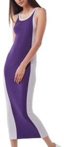 Purple Multi Maxi Dress by Urban Outfitters