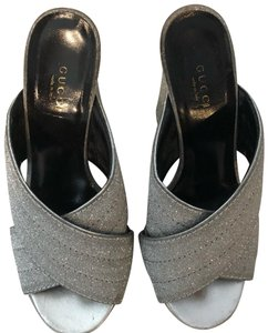 f66525cbbf5 Silver Gucci Mules   Clogs - Up to 90% off at Tradesy