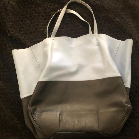 Céline Tote in blue and black