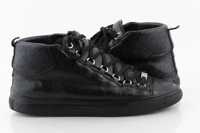 Item - Black All Arena High Top Sneakers Shoes