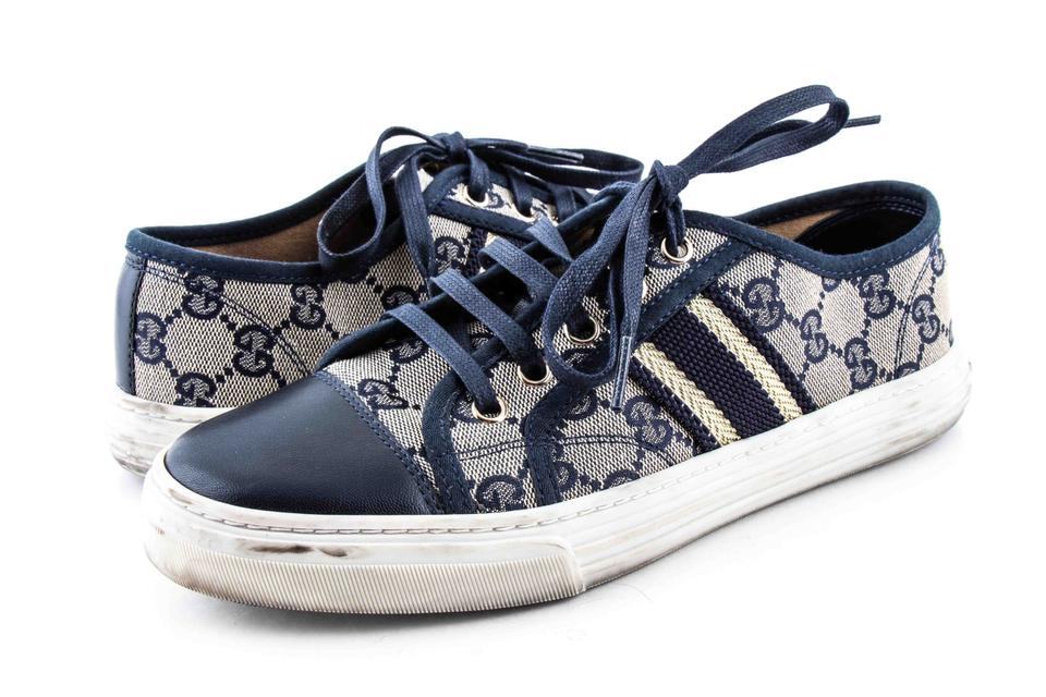 07f92a29d Gucci Multicolor Women's Natural 'california Low' Lace-up Sneakers ...