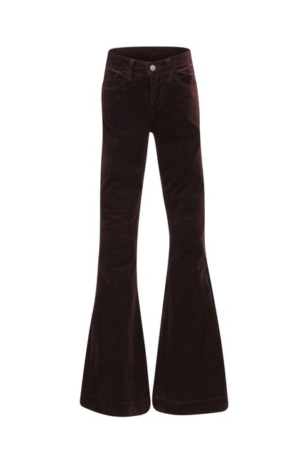 Item - Red Bella Flare Leg Jeans Size 24 (0, XS)