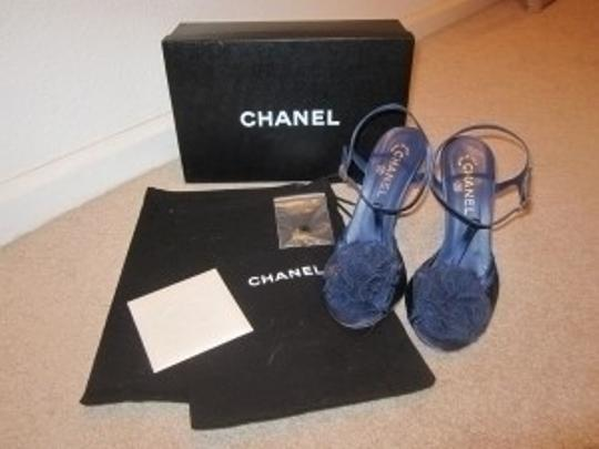 Chanel Navy Blue Formal