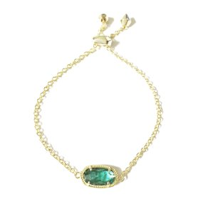Kendra Scott Brand New Kendra Scott Elaina Gold London Blue Slider Bracelet