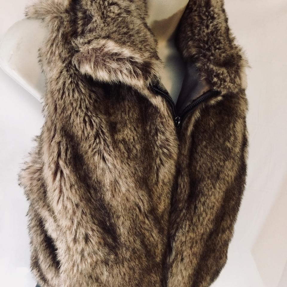 Ashley Fur: Ashley By 26 International Faux Fur Vest Size 8 (M)
