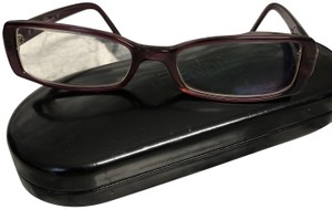 Prada Burgandy frame with purple stones in the side