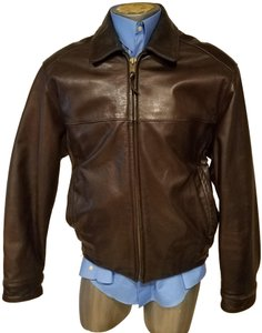 Marc New York Bomber Man Aviator Cafe Racer Motorcycle Jacket